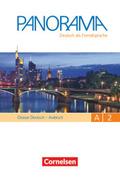 Panorama - Deutsch als Fremdsprache: Glossar Deutsch-Arabisch, Gesamtband; Bd.A2