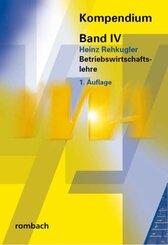 Kompendium der Verwaltungs- und Wirtschafts-Akademie Freiburg (VWA): Betriebswirtschaftslehre