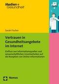 Vertrauen in Gesundheitsangebote im Internet