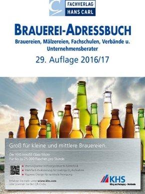 Brauerei-Adressbuch 2016/2017