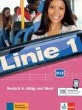 Linie 1: Kurs- und Übungsbuch B1.2, m. DVD-ROM