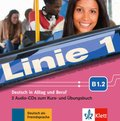 Linie 1: 2 Audio-CDs zum Kurs- und Übungsbuch B1.2