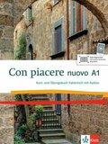 Con piacere nuovo: Kurs- und Übungsbuch Italienisch, m. MP3-CD; Niveau.A1