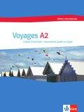 Voyages - édition internationale: Cahier d'activités + documents audio en ligne; .A2