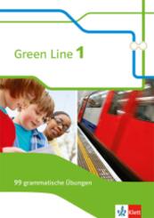 Green Line, Bundesausgabe ab 2014: 5. Klasse, 99 grammatische Übungen mit Lösungen
