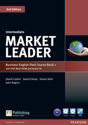 Market Leader Intermediate 3rd edition: Flexi Course Book 1, w. DVD Multi-ROM and Audio-CD