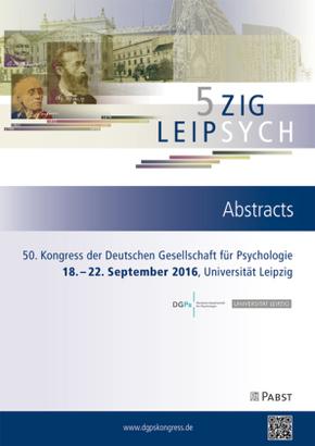 50. Kongress der Deutschen Gesellschaft für Psychologie