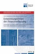 Entwicklungslinien der Finanzverfassung