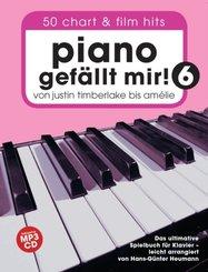 Piano gefällt mir!, m. MP3-CD - Bd.6