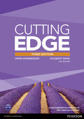 Cutting Edge, Upper-Intermediate, 3rd Edition: Students' Book and DVD-ROM