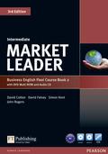 Market Leader Intermediate 3rd edition: Flexi Course Book 2, w. DVD Multi-ROM and Audio-CD