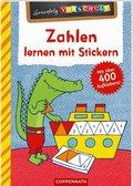 Zahlen lernen mit Stickern