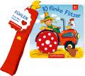 Mein erstes Fühl-Buch für den Buggy: 10 flinke Flitzer