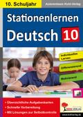 Stationenlernen Deutsch, 10. Schuljahr