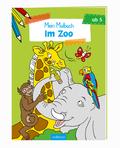 Malbuch ab 5 Jahren - Im Zoo