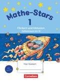 Mathe-Stars: 1. Schuljahr, Übungsheft Fördern und Inklusion