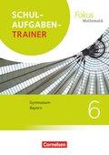 Fokus Mathematik, Gymnasium Bayern 2017: 6. Jahrgangsstufe, Schulaufgabentrainer