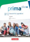 Prima plus - Deutsch für Jugendliche: Testheft mit Audio-CD; .B1