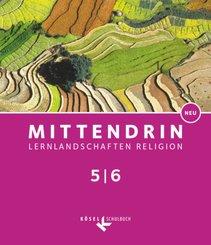 Mittendrin, Ausgabe Baden-Württemberg und Niedersachsen, Neubearbeitung 2017: 5./6. Schuljahr, Schülerbuch; .1