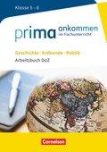 Geschichte, Erdkunde, Politik: Klasse 5/6 - Arbeitsbuch DaZ mit Lösungen