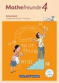 Mathefreunde, Ausgabe Süd 2015: 4. Schuljahr, Arbeitsheft
