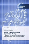 Ginger Processing and Equipment Design