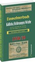 Einwohnerbuch der Städte Kölleda, Heldrungen, Wiehe 1938/1939