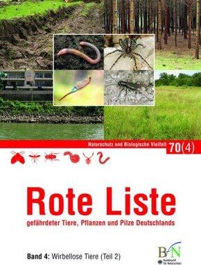 Rote Liste gefährdeter Tiere, Pflanzen und Pilze Deutschlands - Tl.2