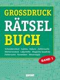 Grossdruck-Rätselbuch - Bd.1