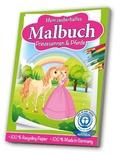 Mein zauberhaftes Malbuch Prinzessinnen & Pferde
