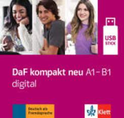 DaF kompakt neu: DaF kompakt neu A1-B1 digital, USB-Stick