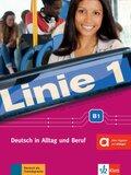 Linie 1: Kurs- und Übungsbuch B1, m. DVD-ROM