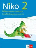 Niko, Differenzierende Ausgabe 2017: 2. Schuljahr, Differenziertes Lesebuch. Leseförderung mit Audio-CD