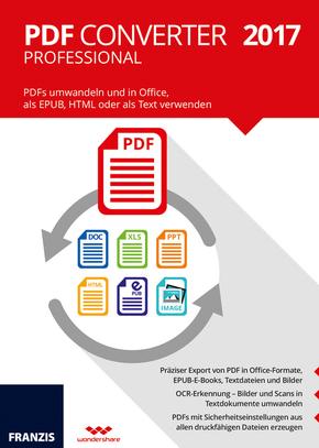 PDF Converter Professional 2017, CD-ROM