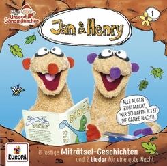Jan & Henry - 8 lustige Miträtsel-Geschichten und 2 Lieder für die gute Nacht