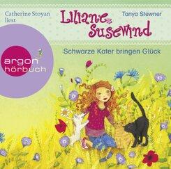 Liliane Susewind - Schwarze Kater bringen Glück, 1 Audio-CD