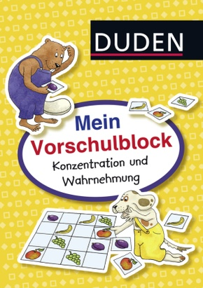 Duden: Mein Vorschulblock: Konzentration und Wahrnehmung