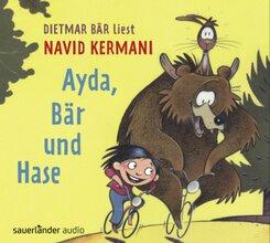 Ayda, Bär und Hase, 3 Audio-CDs