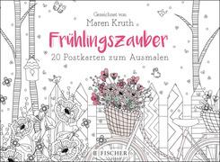 Frühlingszauber - Postkartenbuch