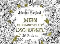 Mein geheimnisvoller Dschungel, Postkartenbuch