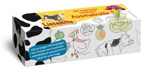 Lieselotte - Ausmalrolle (mit 5-Farb-Stift)