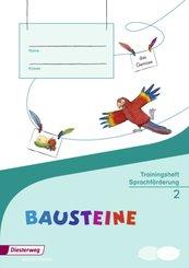 BAUSTEINE Sprachbuch, Ausgabe 2014: 2. Schuljahr, Trainingsheft Sprachförderung
