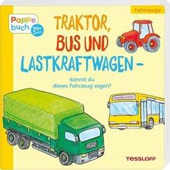 Traktor, Bus und Lastkraftwagen - kannst du dieses Fahrzeug sagen?