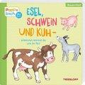 Esel, Schwein und Kuh - erkennen kannst du uns im Nu!