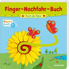 Finger-Nachfahr-Buch - Durch die Natur