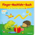 Finger-Nachfahr-Buch - Der Frosch feiert Geburtstag