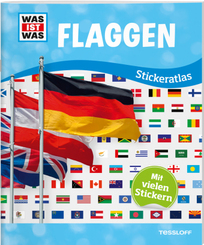 Flaggen - Was ist was Stickeratlas