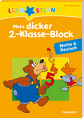 Mein dicker 2.-Klasse-Block Mathe & Deutsch