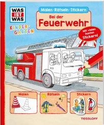 Bei der Feuerwehr - Was ist was Kindergarten