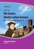 Wir lernen Martin Luther kennen, 1 CD-ROM